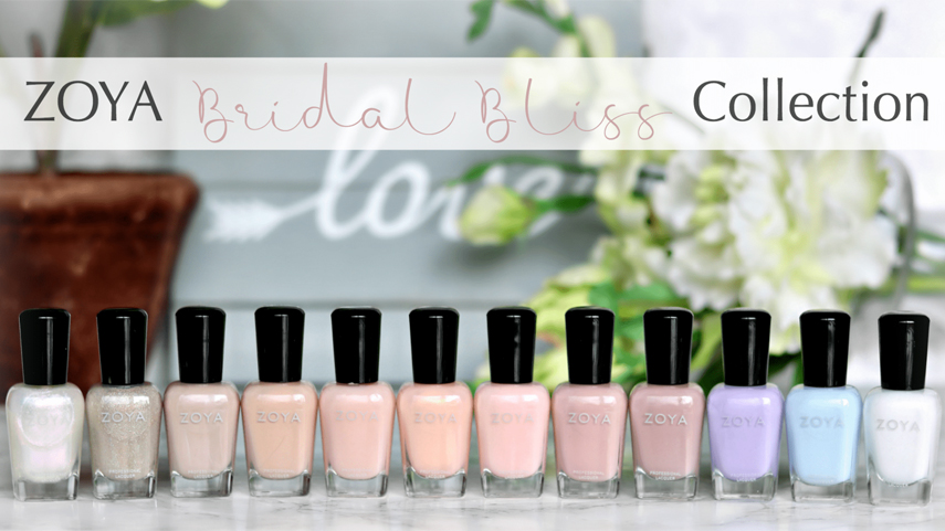 Zoya Bridal Bliss 2018 - Veteran nail polishes make a comeback this bridal season