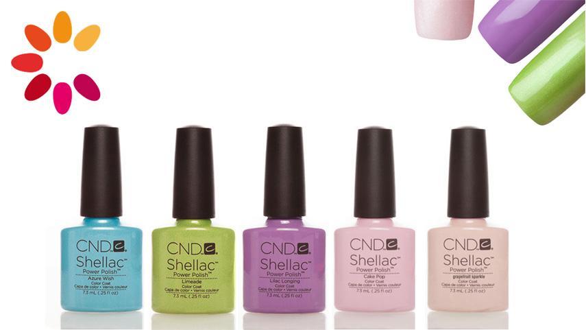 The shellac nail polish - A superb invention
