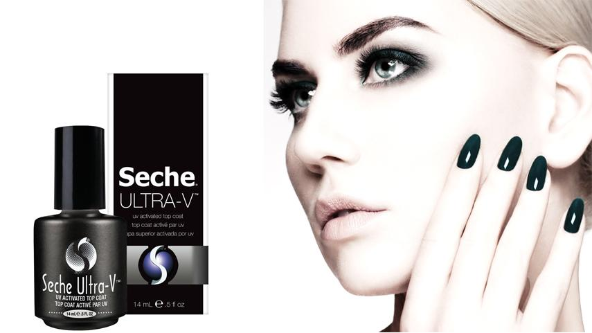 How to use Seche Vite UV top coat
