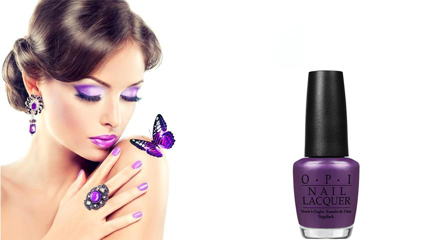 OPI Nail Lacquer Purple with a Purpose - A sign of Wealth, Ambition, and Wisdom