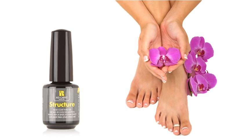 Red Carpet Manicure Structure Base Coat Gel 9ml – Gel Manicure VS Traditional Manicure