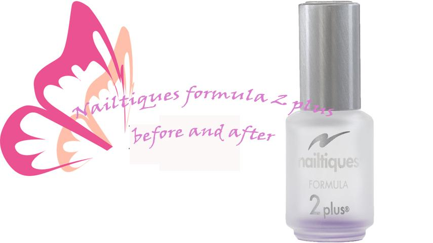 Nailtiques formula 2 plus before and after - Solutions to your problematic weak and brittle nails