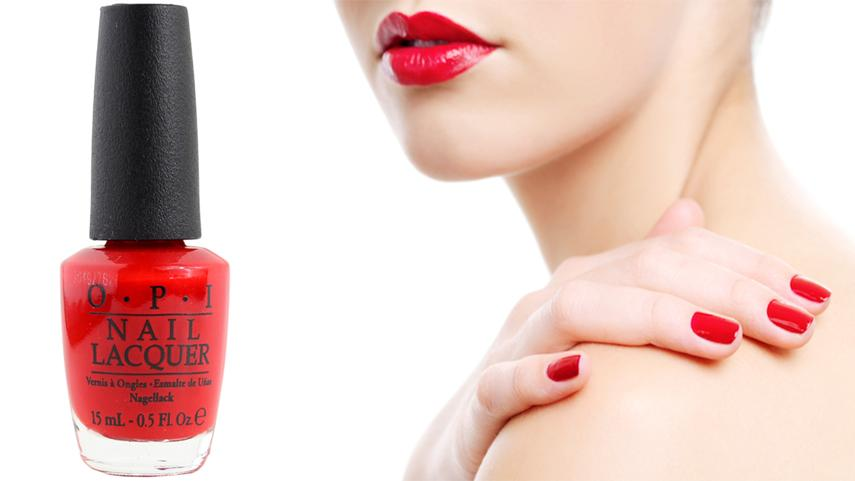 OPI Nail Polish Red Hot Ayers Rock: An Insight